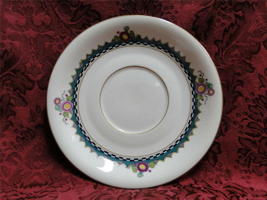 "Rosenthal Troubadour 2536, Bird, Floral, Cream: 7 1/4"" Cream Soup Saucer Only"
