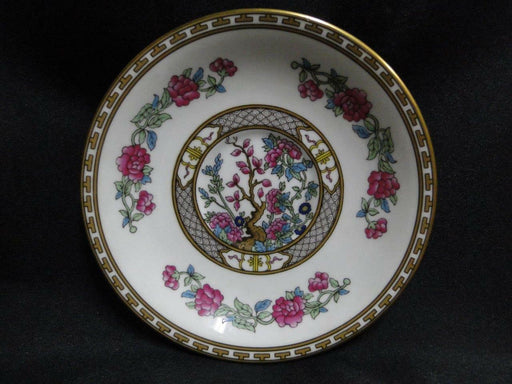 Aynsley Indian Tree, Multicolor, Smooth Edge, Gold Trim: Saucer Only 5 1/2""