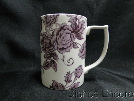 "Spode Kingsley, Florals & Bird on White, England: NEW Mug (s), 4 1/4"", 12 oz"