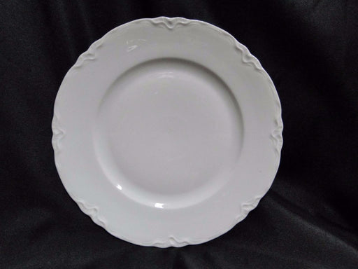 "Hutschenreuther Racine, White: Luncheon Plate (s) ""LHS"" Backstamp, 8 1/2"""