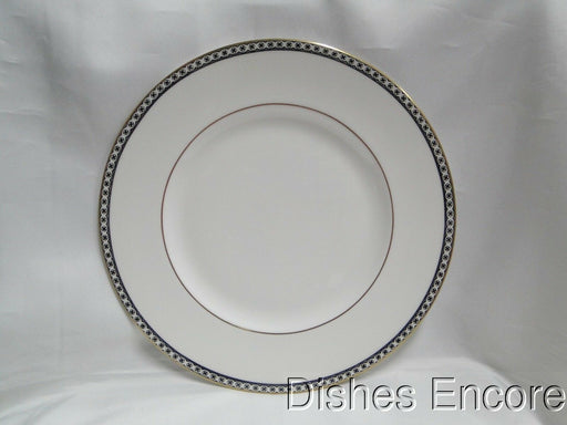 Wedgwood Ulander Black, Black Lines & Circles on Edge: Dinner Plate (s), 10 3/4""
