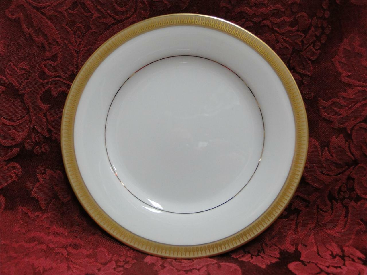 Noritake Goldwyn, 6244, Encrusted Gold Band: Bread Plate (s), 6 3/8""