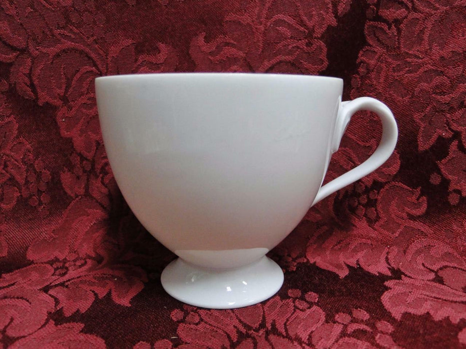 "Hutschenreuther Fleuron, White: Footed Cup Only 3 1/8"" tall"