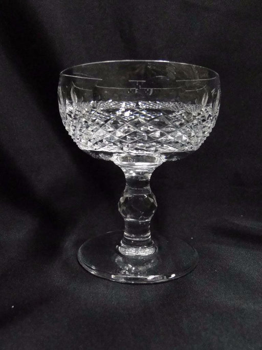Waterford Crystal Colleen, Short Stem, Thumbprints: Champagne/Sherbet (s) 4 3/8""