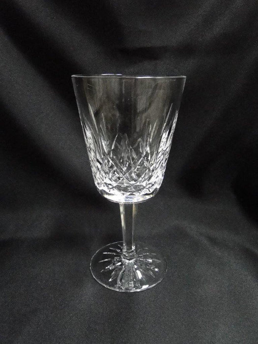 "Waterford Crystal Lismore: Water or Wine  Goblet, 6 7/8"" Tall, 10 oz."