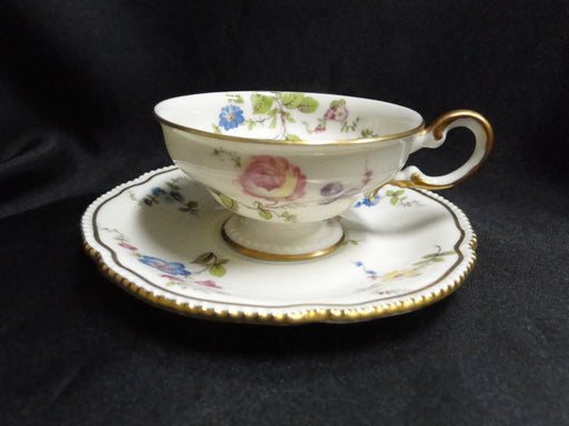 Castleton Sunnyvale, Multicolored Flowers: Demitasse Cup & Saucer Set (s) 1 5/8""