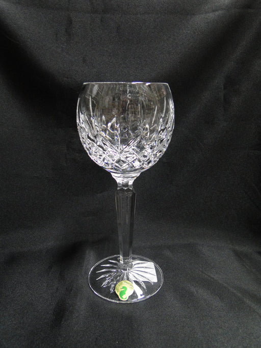 "Waterford Crystal Lismore: NEW Hock Wine (s), 7 3/8"", 6 oz, Box, FREE SHIP, FREE WRAP"