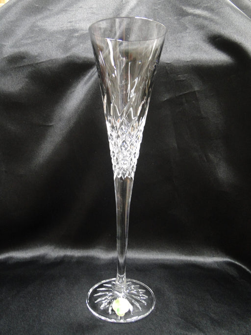 "Waterford Crystal Wishes: NEW Pair Happy Toasting Flutes, 11"", Box, FREE SHIP, FREE WRAP"