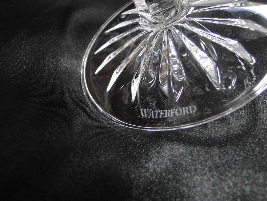 "Waterford Crystal Lismore Black: NEW Pair Balloon Brandy,  5 1/8"", 11.2 oz, Box, FREE SHIP, FREE WRAP"