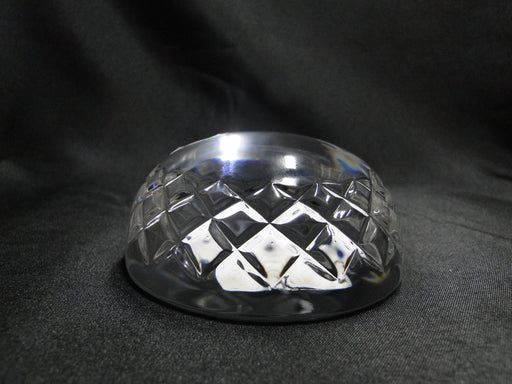 Waterford Crystal: NEW Dome Paperweight, Blank Panel, Cut Xs, Box, FREE SHIP, FREE WRAP