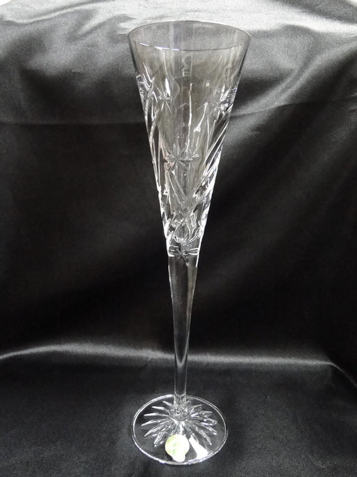 "Waterford Crystal Wishes: NEW Achievement Toasting Flute, 11"", Box, FREE SHIP, FREE WRAP"