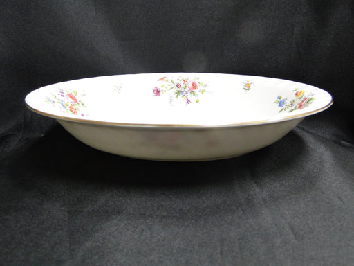 Minton Marlow, Florals on White: Oval Serving Bowl (s), 10 3/4""