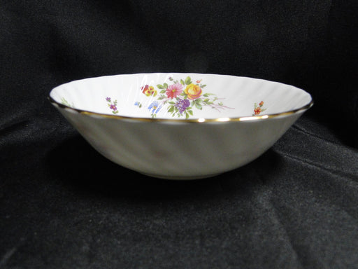 "Minton Marlow, Florals on White: Fruit Bowl (s), 5 3/8"" x 1 5/8"" Tall"