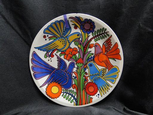 "Villeroy & Boch Acapulco, Milano, Birds, Flowers: Salad Plate, 8"", As Is"