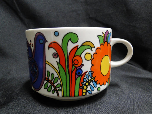 Villeroy & Boch Acapulco, Milano, Birds, Flowers: Oversized Cup & Saucer Set