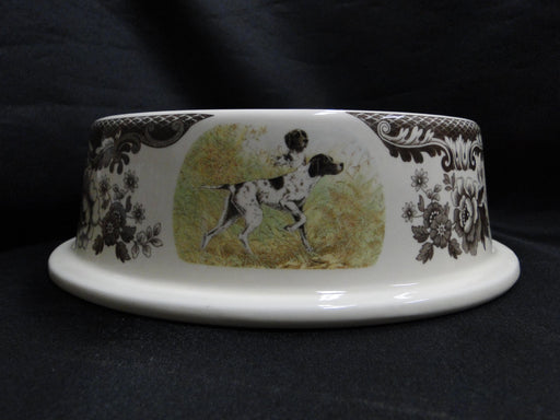 "Spode Woodland Hunting Dogs: NEW Dog / Pet Bowl (s), 7 3/4"" x 2 1/2"", Box"