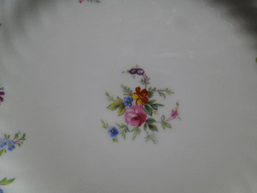 "Minton Marlow, Florals on White: Salad Plate, 8"", As Is"