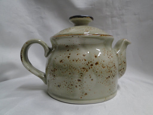 "Steelite Craft, England: NEW Green Teapot Club w/ Lid, 4 1/2"", 15 oz"