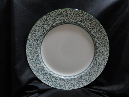 Spode Holly Tree, Green Trim, England: Charger / Plate / Platter (s), 12 5/8""