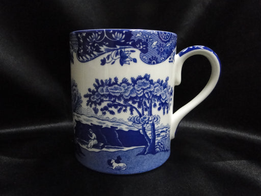 "Spode Italian, Blue Scene: NEW Mug (s), 4 1/4"" Tall, 16 oz"