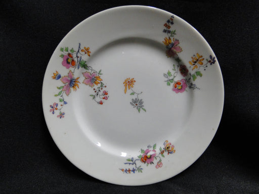 Haviland (Limoges) Head 56 Pink & Yellow Floral CHF 189: Bread Plate (s) 6 3/8""