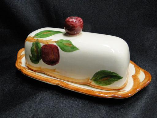 Franciscan Apple (USA): Butter Dish with Lid, AS IS