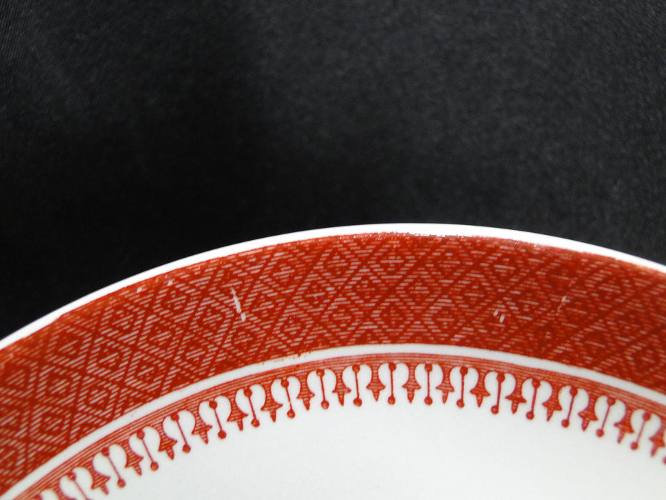 "Spode Heritage Red, Eagle, New Stone: 5 3/4"" Saucer (s) Only, No Cup"
