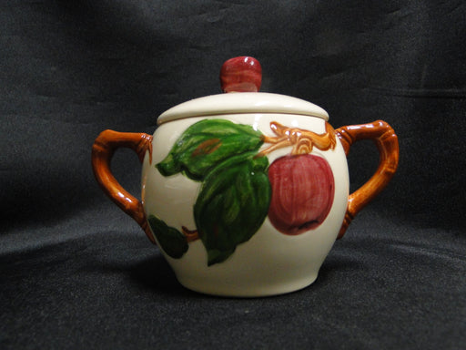 "Franciscan Apple, USA: Individual Sugar Bowl & Lid, 3 3/4"" Tall"