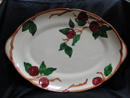 "Franciscan Apple, USA: Oval Serving Platter, 19 1/8"" x 13"""