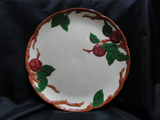 "Franciscan Apple: Round Serving Platter, 12 1/2"", As Is"