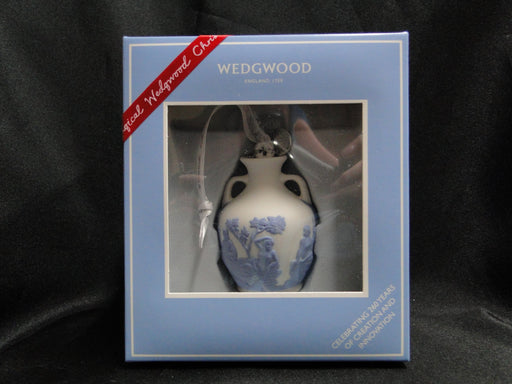 Wedgwood Iconic Ornament: NEW 260th Anniversary Portland Vase Ornament, Box