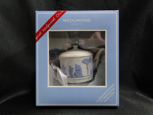 Wedgwood Iconic Ornament: NEW 260th Anniversary Teapot Ornament, Box