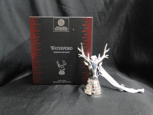 Waterford Ornament: NEW Silver Stag Ornament / Decoration, Box