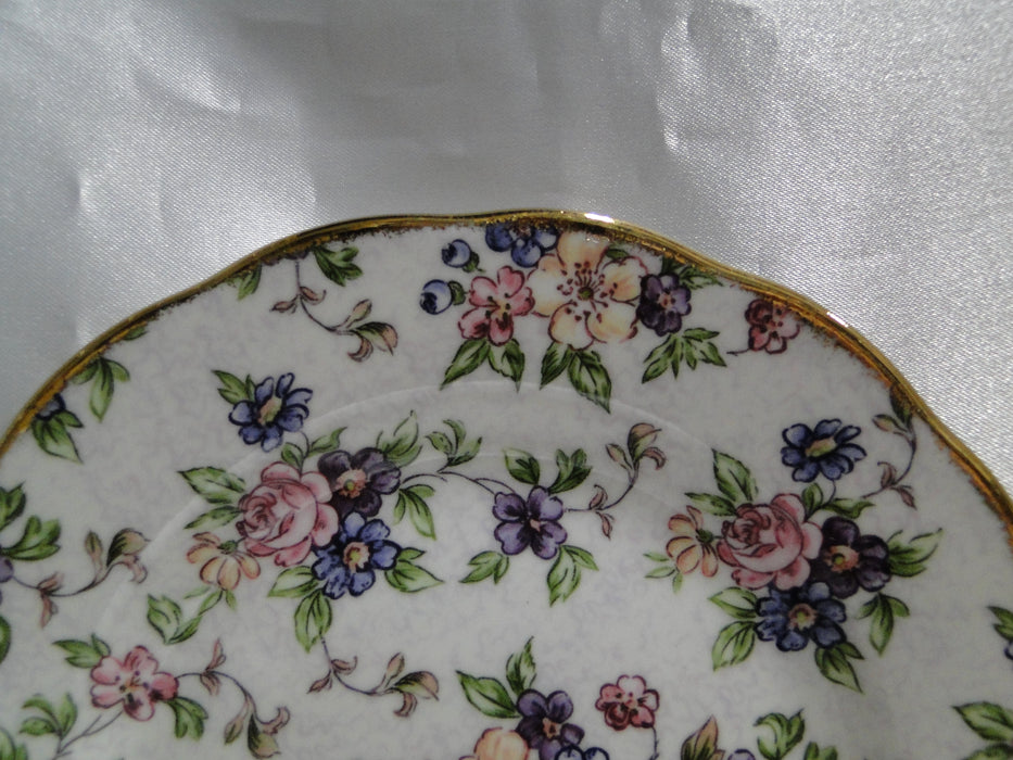 Royal Albert 100 Years, English Chintz, Regency, Duchesse: NEW 3-Tier Tray / Cake Stand (s), Box
