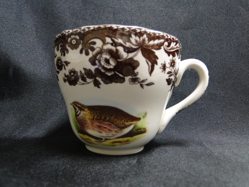 Spode Woodland Quail, Pheasant, Snipe, Rabbit: Scalloped Cup & Saucer Set (s)