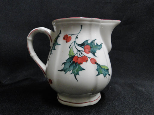 Villeroy & Boch Holly, Green, Red Berries: Creamer / Cream Pitcher, 3 5/8""