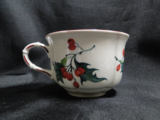 Villeroy & Boch Holly, Green, Red Berries: Cup & Saucer Set (s), 2 3/8""