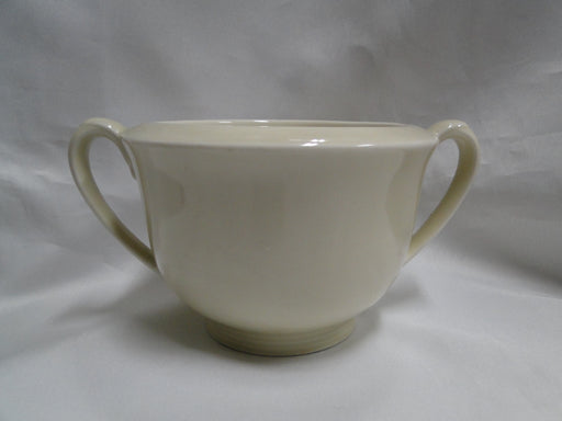 "Hutschenreuther Turvel, All Cream, No Trim: Sugar Bowl No Lid, 3 1/4"" Tall"