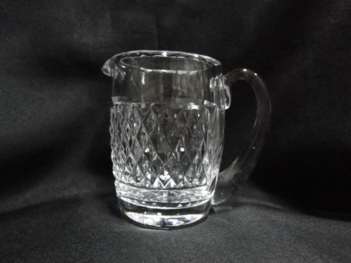 Waterford Crystal, Cross Hatch & Thumbprint Edge: Creamer,  3 7/8""
