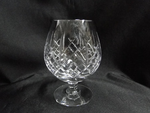 "Royal Doulton Julia, Vertical & Criss Cross Cuts: Brandy Snifter, 4 5/8"" Tall"
