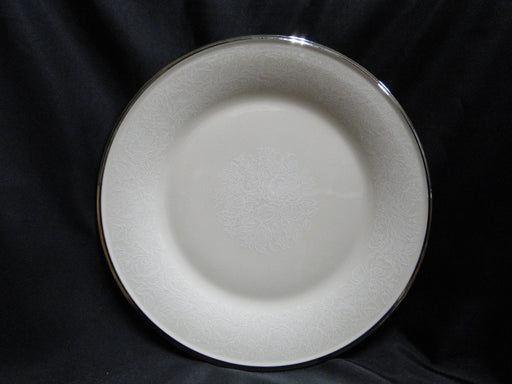 Lenox Moonspun, White Flowers, Platinum: Dinner Plate (s), 10 1/2""