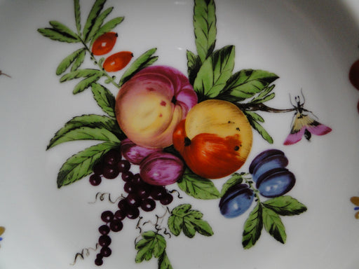 Mottahedeh Duke of Gloucester Salad Plate B AS IS, Fruit, Multi color, Gold, Green
