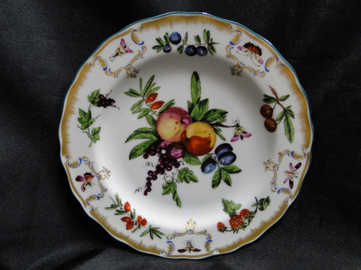Mottahedeh Duke of Gloucester Salad Plate B Fruit Multi color Gold Green