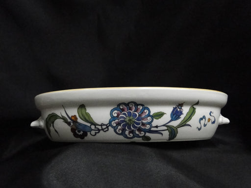 Royal Worcester Palmyra, Multicolored Flowers: Casserole / Baker w/ Lid, 10""
