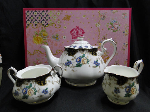 Royal Albert 100 Years, Duchess: NEW Teapot, Creamer, & As Is Sugar, Box