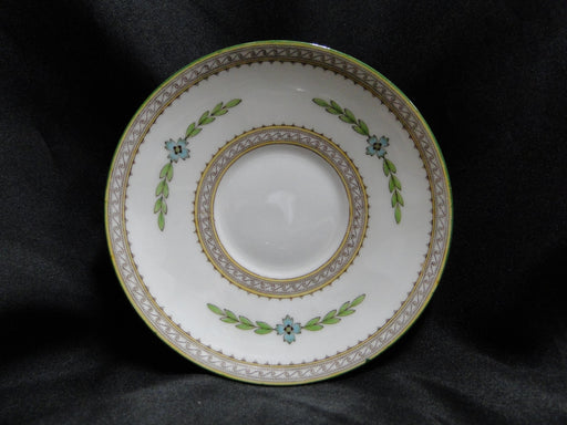 "Minton Kent, Blue Flowers, Green Laurel: 5 5/8"" Saucer Only, No Cup"