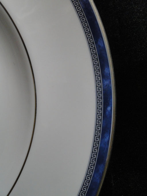 Royal Doulton Atlanta, Blue Border, Greek Key: Dinner Plate (s), 10 3/4""