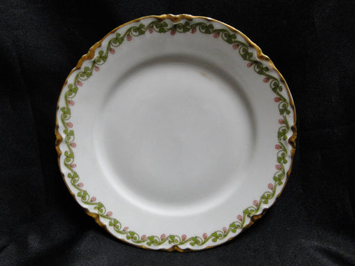Haviland (Limoges), Clover Leaf: Bread Plate, Flaw 6 1/8""