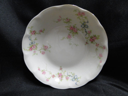 "Haviland Rosanne Fruit Bowl (s) 5"" (New York), Pink Roses, Blue Ribbon, Gold"