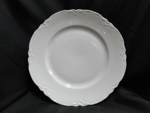 "Hutschenreuther Racine, White: Dinner Plate (s), 9 7/8"", Selb"